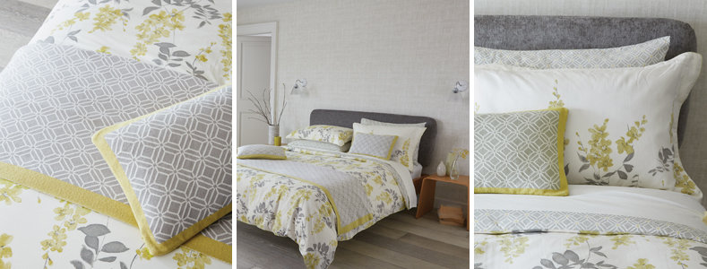 Sanderson Wisteria Blossom Bedding Collection