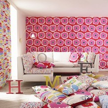 Sanderson Papavera Fabric Collection