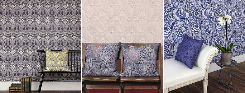 Liberty Fabrics Wallpaper Collection