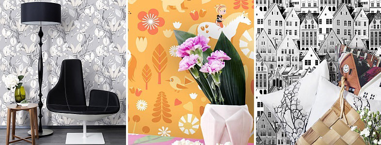 Vallila Horisontti Wallpaper Collection
