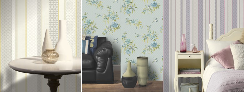 Holden Decor Amaya & Amaya Stripe Wallpaper Collection