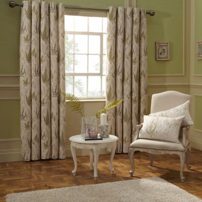 iliv Botanica Curtains & Cushions Ready Made Curtains Collection
