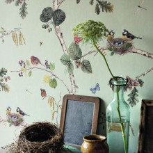 Sanderson Woodland Walk Wallpaper Collection