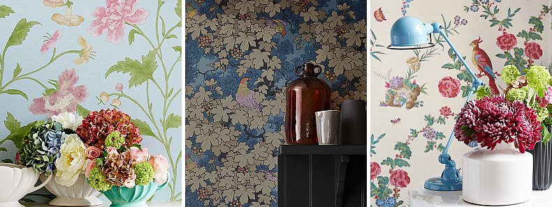 Little Greene Archive Trails Wallpaper Collection