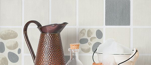 Crown Tile Style Wallpaper Collection