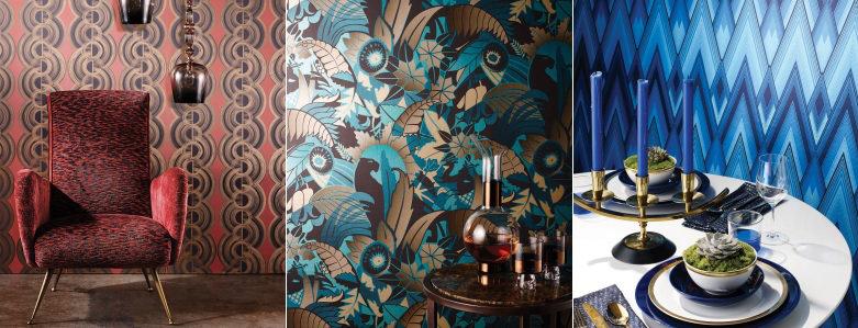 Osborne & Little Fantasque Wallpaper Collection