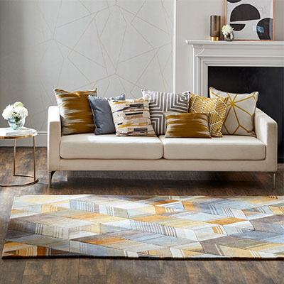 Harlequin Wool Rug Collection