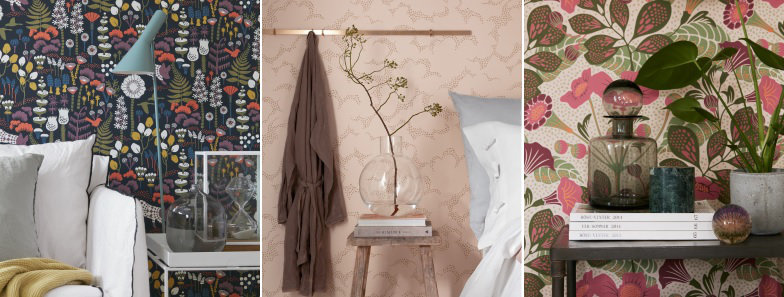 Boråstapeter Wonderland by Hanna Werning Wallpaper Collection