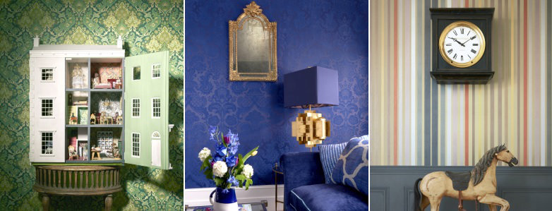 Cole & Son Mariinsky Damask Wallpaper Collection