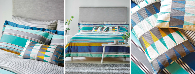 Harlequin Kaledio Marine Bedding Collection