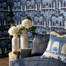 Nina Campbell Coromandel Wallpaper Collection