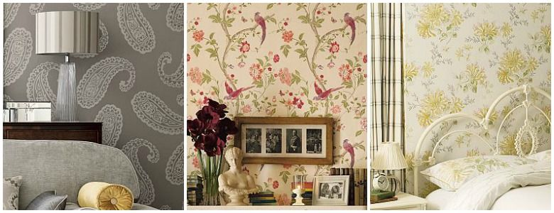 Laura Ashley AW 2016 Wallpaper Collection