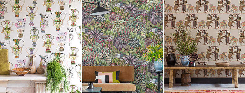 Cole & Son The Ardmore Collection Wallpaper : Wallpaper Direct