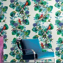 Osborne & Little Enchanted Gardens Wallpaper Collection