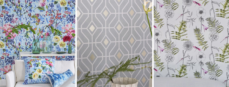 Designers Guild Majolica Paper Wallpaper Collection