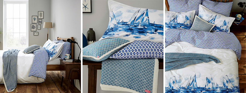 Joules Sailing Boats Bedding Collection