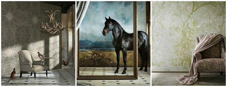 Zoffany Kempshott Wallpaper Collection