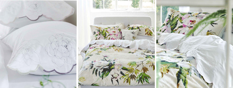 Designers Guild Floreale Grande Bedding Collection