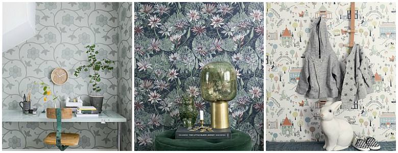 Engblad & Co Arkiv Engblad Wallpaper Collection