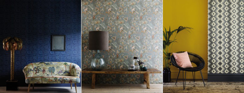 Linwood Fable Wallpaper Collection