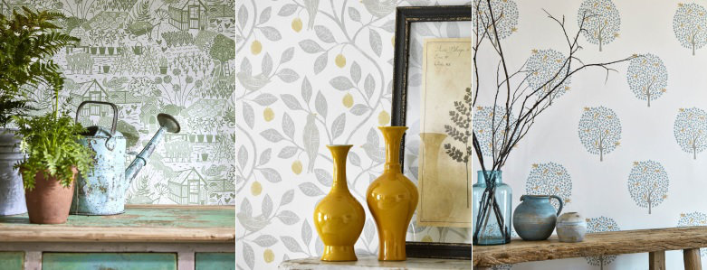 Sanderson Home The Potting Room Wallpaper Collection