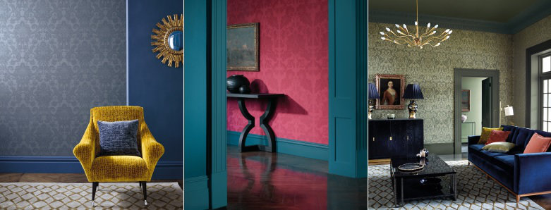 Zoffany The Alchemy of Colour Wallpaper Collection