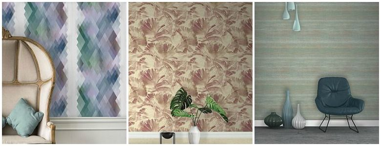 The Paper Partnership Grandefiore Lugano Wallpaper Collection