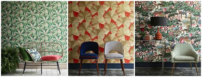 Linwood Tango Wallpaper Collection