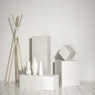 Casadeco So White 3 Wallpaper Collection