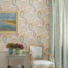 Nina Campbell Les Reves Wallpaper Collection