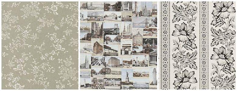 Ralph Lauren Signature Loft Papers Wallpaper Collection