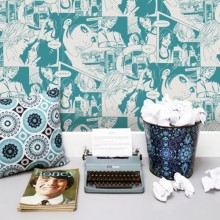 Mini Moderns Saturday Night/ Sunday Morning Wallpaper Collection