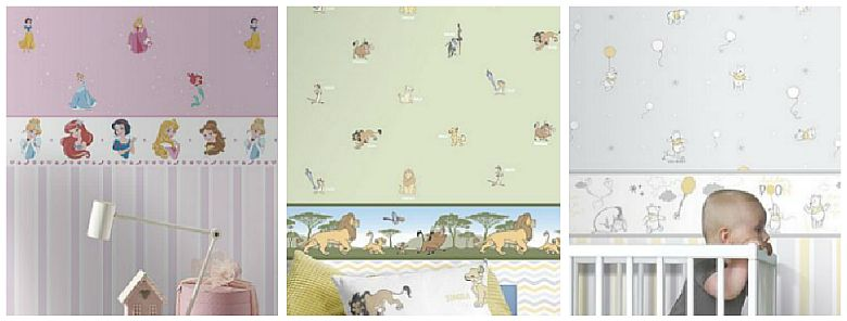 Galerie Magical Kingdom Wallpaper Collection