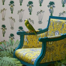 Clarke & Clarke Animalia by Emma J Shipley Wallpaper Collection