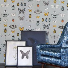 Clarke & Clarke Botanica Wallpaper Collection