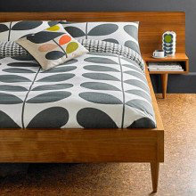 Orla Kiely Giant Stem Flannelette Cotton Bedding Collection