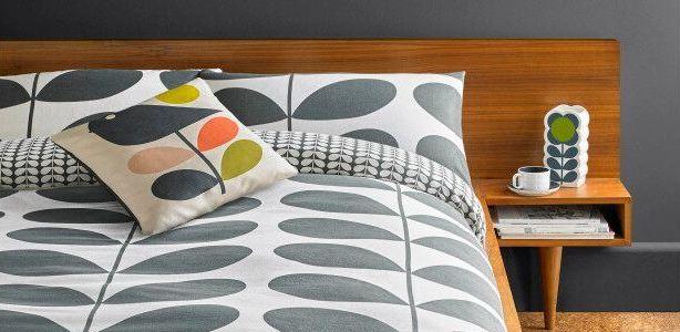 Orla Kiely Giant Stem Flannelette Cotton Bedding Collection