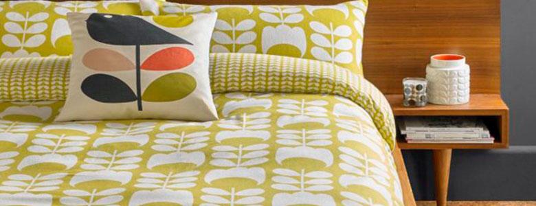 Orla Kiely Tulip Flannelette Cotton Bedding Collection