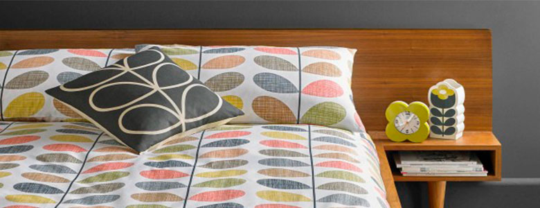 Orla Kiely Scribble Stem Bedding Collection