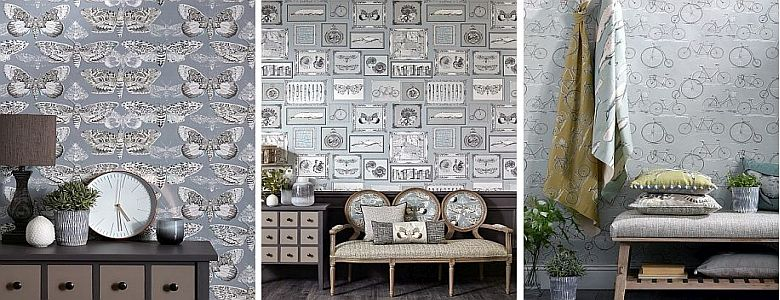 Voyage Natural History Vol I Wallart Mural Collection