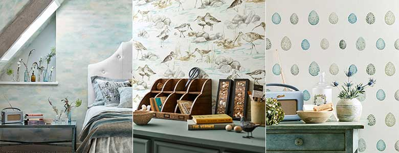 Sanderson Embleton Bay Wallpaper Collection
