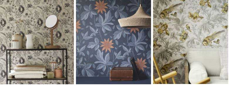 Little Greene Archive Trails II Wallpaper Collection