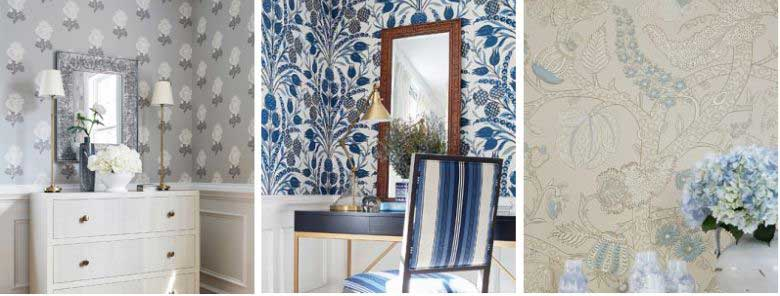 Thibaut Chestnut Hill Wallpaper Collection