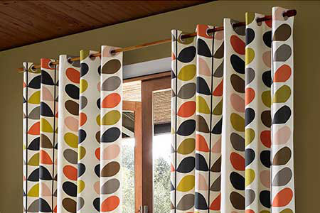 Orla Kiely Ready Made Curtains Collection