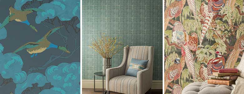 Mulberry Home Modern Country Wallpaper Collection