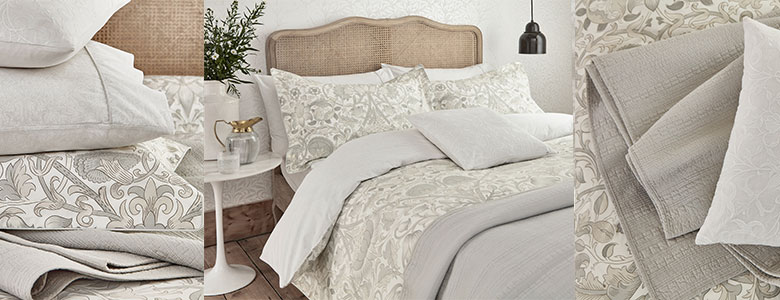 Morris Pure Lodden bedding Collection