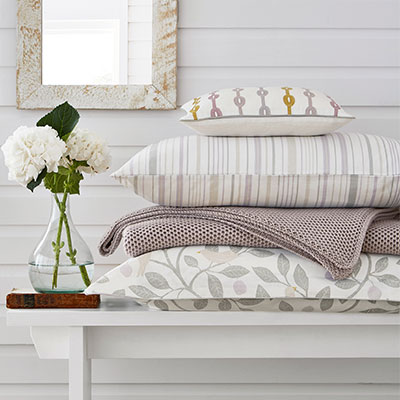 Sanderson Damson Tree bedding Collection