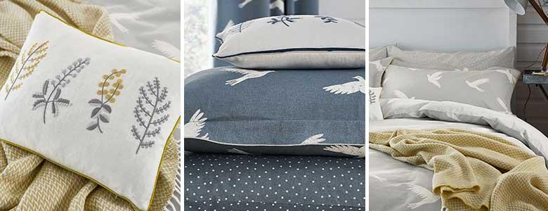 Sanderson Paper Doves Duvet Cover Collection
