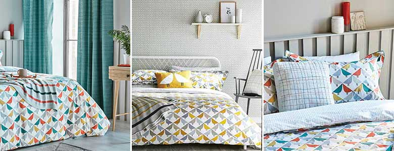 Scion Lintu Bedding Collection