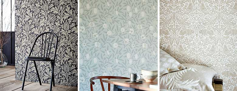 Morris Pure North Wallpaper Collection